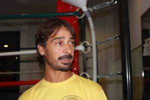 Il volontario FISP Vittorio Magno: per tutto quello che serve c'é sempre lui.