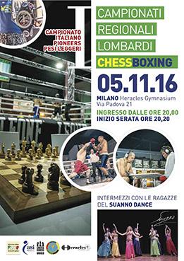 Locandina Chess Boxing 2016