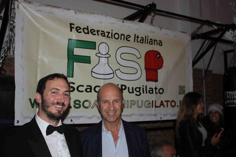 Volfango Rizzi (sin) e Marco Contardi, presidenti FISP e ASI Lombardia.