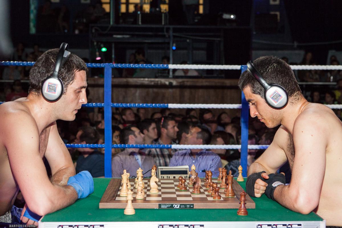 Due chessboxer italiani a Londra il 13 dicembre.