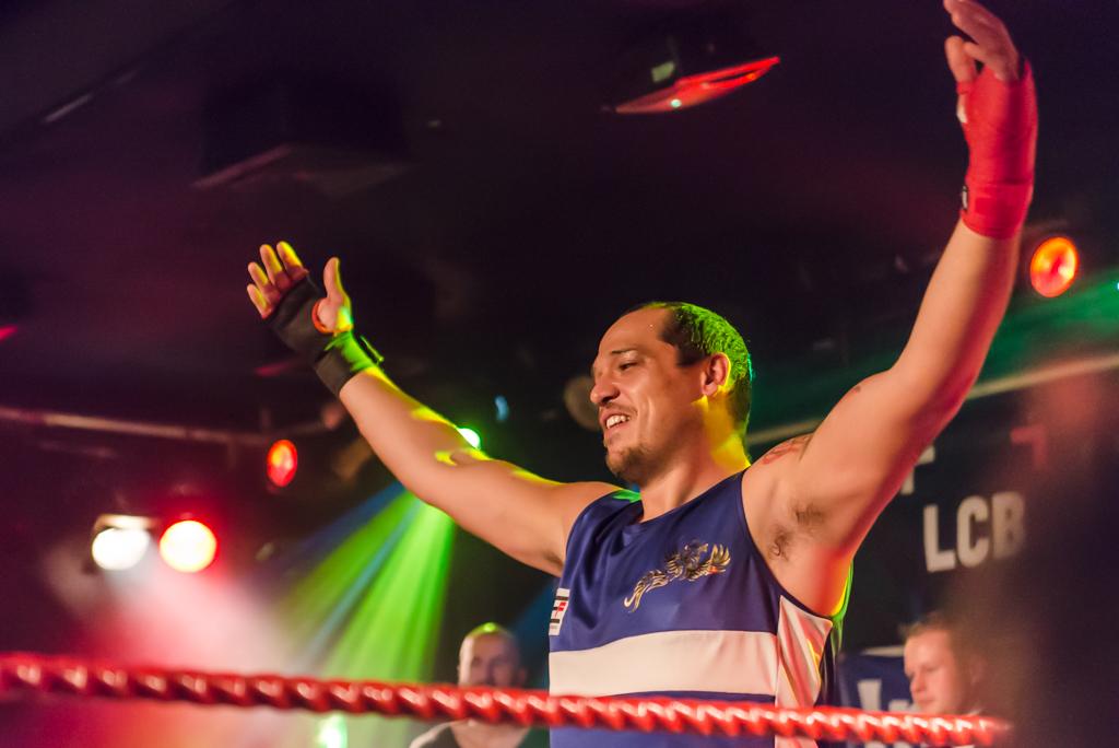 Sergio Leveque nuovo Campione Europeo dei massimi. FOTOREPORTAGE.