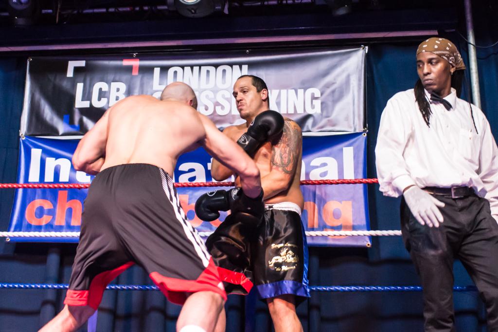 Sergio Leveque Campione i video di Londra del 13 ottobre.