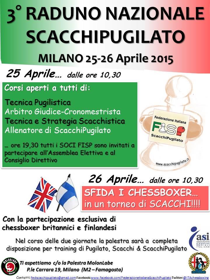 A Milano il III Raduno Nazionale FISP con un tocco internazionale.