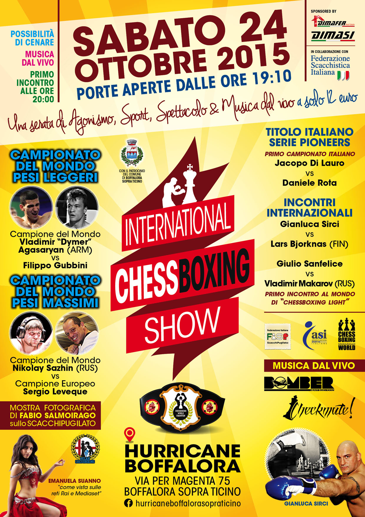 International Chessboxing Show: video promozionale.