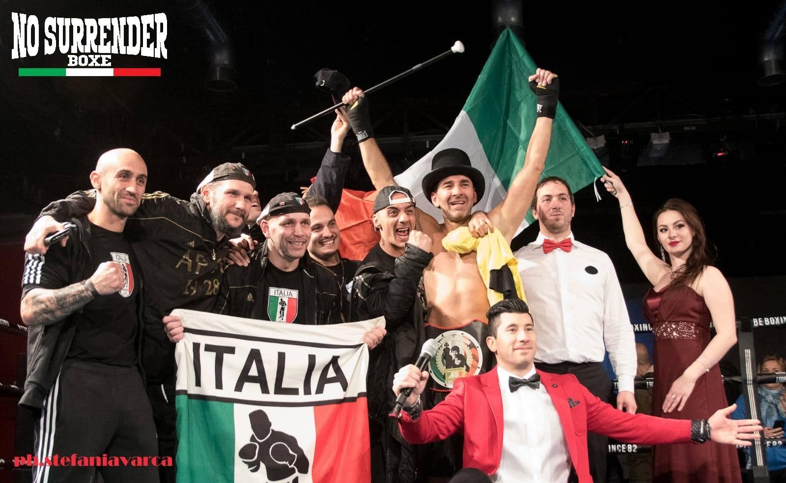 Marcello Gasperini tricolore dopo 11 riprese drammatiche e avvincenti.